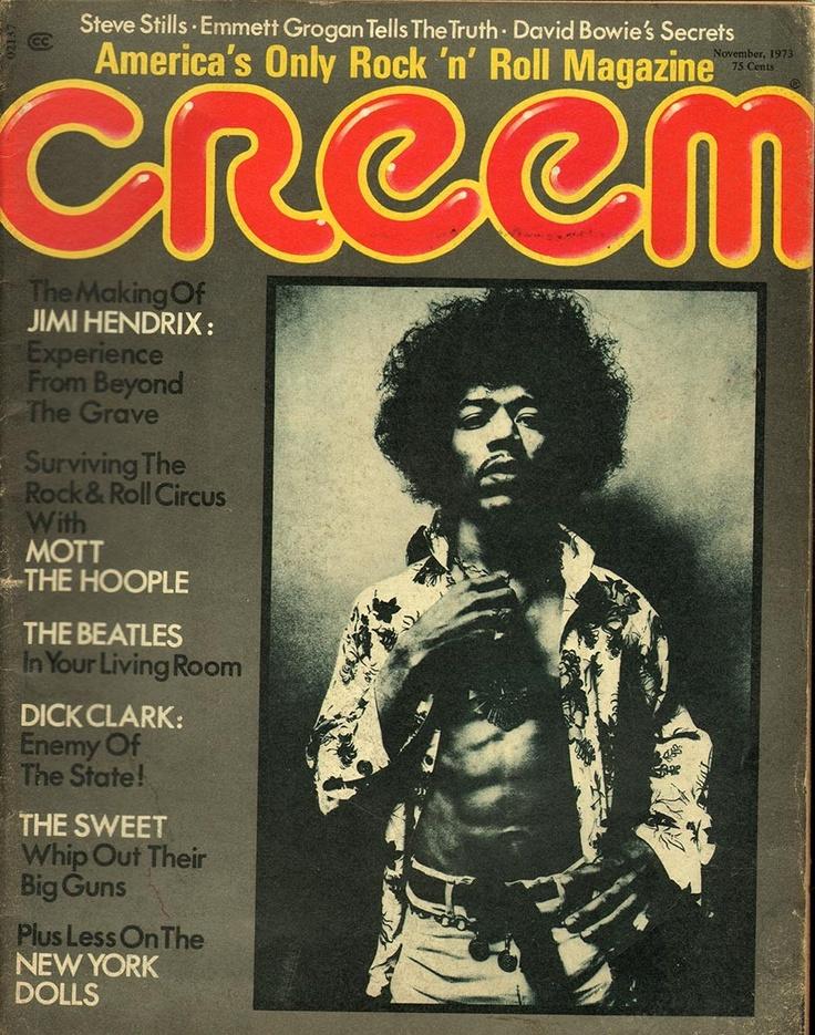 Creem November 1973 - EphemeraForever.com