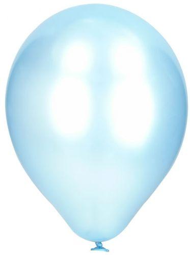Ballonger�perlemor ensfarget�i Latex 10-pk. St�rrelse:Ca. 27cm n�r de er oppbl�st.