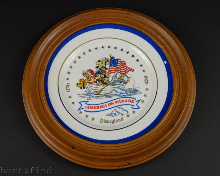 Walt Disney Disneyland America On Parade 1776-1976 Bicenntenial Collectors Plate in Collectibles, Disneyana, Vintage (Pre-1968)   eBay
