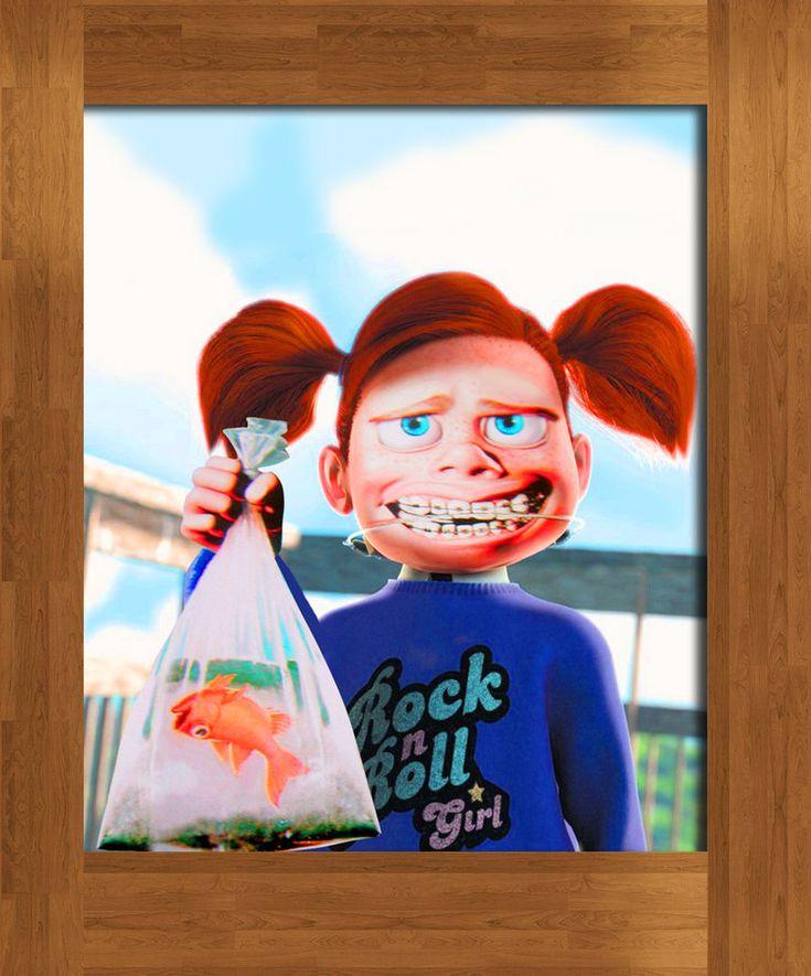 halloween 2013? Darla From Finding Nemo 2 | darla finding nemo by ~DIGITALWIDERESOURCE on deviantART