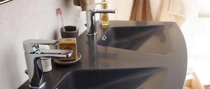 17 meilleures id es propos de salle de bains d 39 argent for Renover une salle de bain pas cher