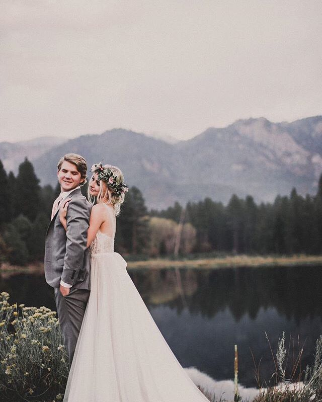 Plan your mountain wedding with Menagerie. Discover and book the best wedding vendors at www.menagerie.me