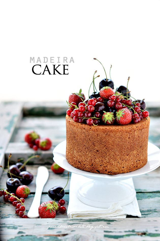 PANEDOLCEALCIOCCOLATO: Madeira Cake and returns! (in Italian) - food…