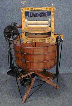 1900's Washing Machine