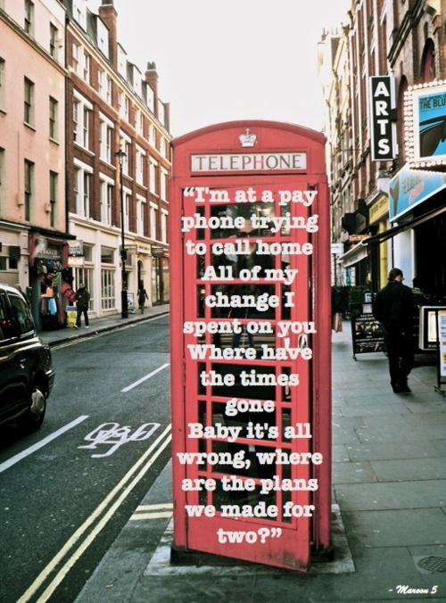 All Those Fairy Tales Are Full Of One More Love Song I Ll Be Sick Maroon 5 Payphone