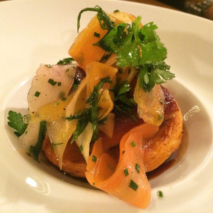 MTL à TABLE J1: Dans la cuisine du Pastaga. |