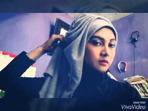 HIJAB TUTORIAL - Hijab Modern For Graduation or Party (Full View) - YouTube