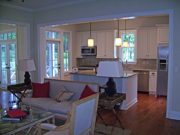 1000 Images About Open Kitchen Den Living Room On