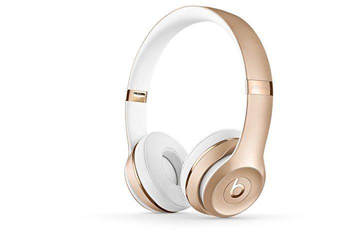 Beats Solo3 Wireless On Ear Headphones Gold Headphones In Ear Headphones Womens Headphones