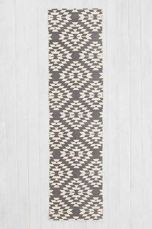 """Magical Thinking Costa Geo Runner - Urban Outfitters- $35 A runner will go in front of two bathroom sinks (in my private bathroom); you'll buy one of the expensive Anthropologie bath """"mats"""" to go in front of the toilet/tub, but these UO runners are a much cheaper idea to go in front of the sinks! And they're cute!"""