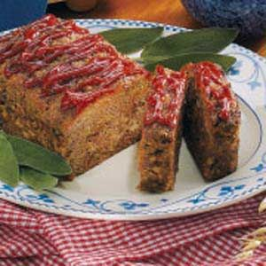 South Dakota Meat Loaf Recipe -I've made other meat loaves, but I always come back to this one, which is based on my mom's recipe.—Lauree Buus, Rapid City, South Dakota