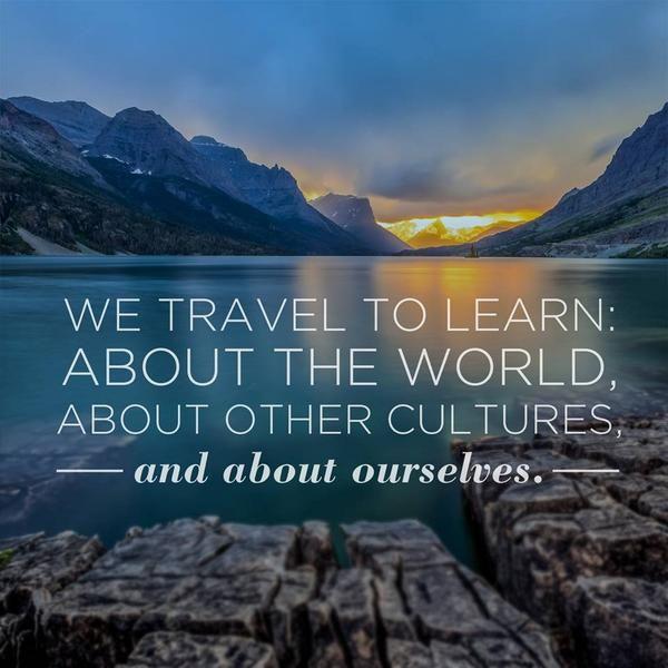 Make the world your classroom. | Hyatt Hotels & Resorts Travel Quote