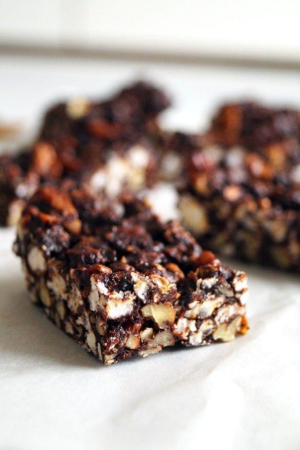 chocolade rijstwafel repen glutenvrij