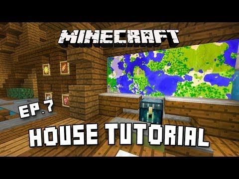 Minecraft CAVE House Survival Base Tutorial (How To Build