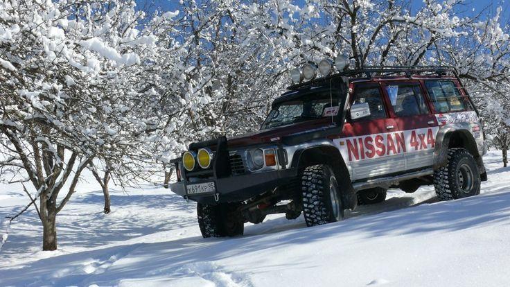 Nissan Patrol GR I (Y60) GRозный-Зубр. ТД42Т