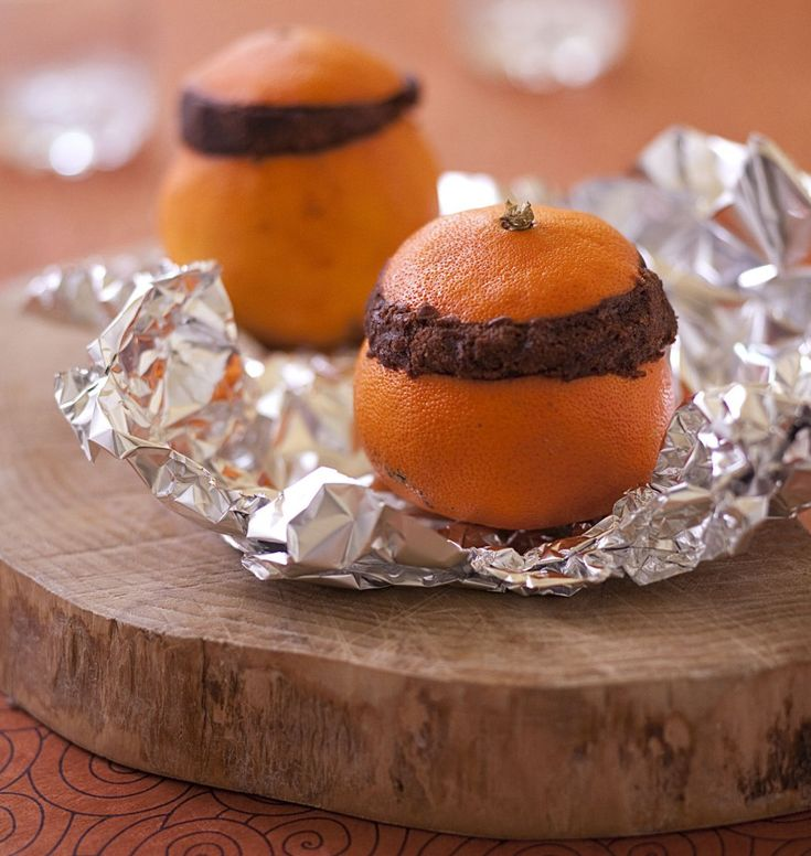 Gâteau au chocolat cuit dans une orange - Ôdélices : Recettes de cuisine faciles et originales !