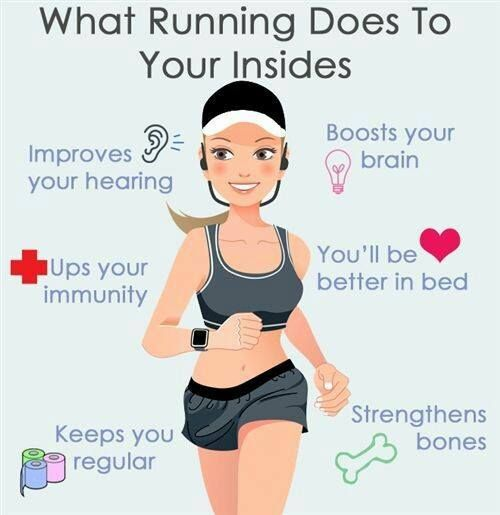 Benefits of Running! #Repin
