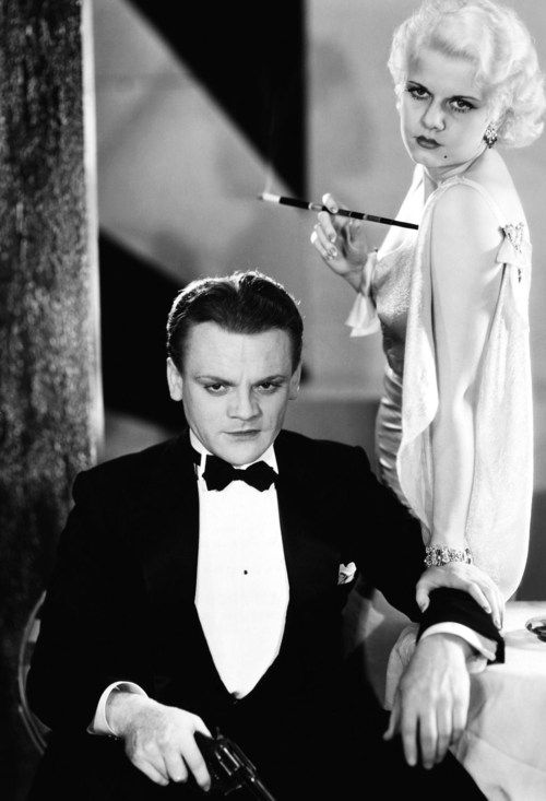 James Cagney and Jean Harlow in a still for 'The Public Enemy' (1931)