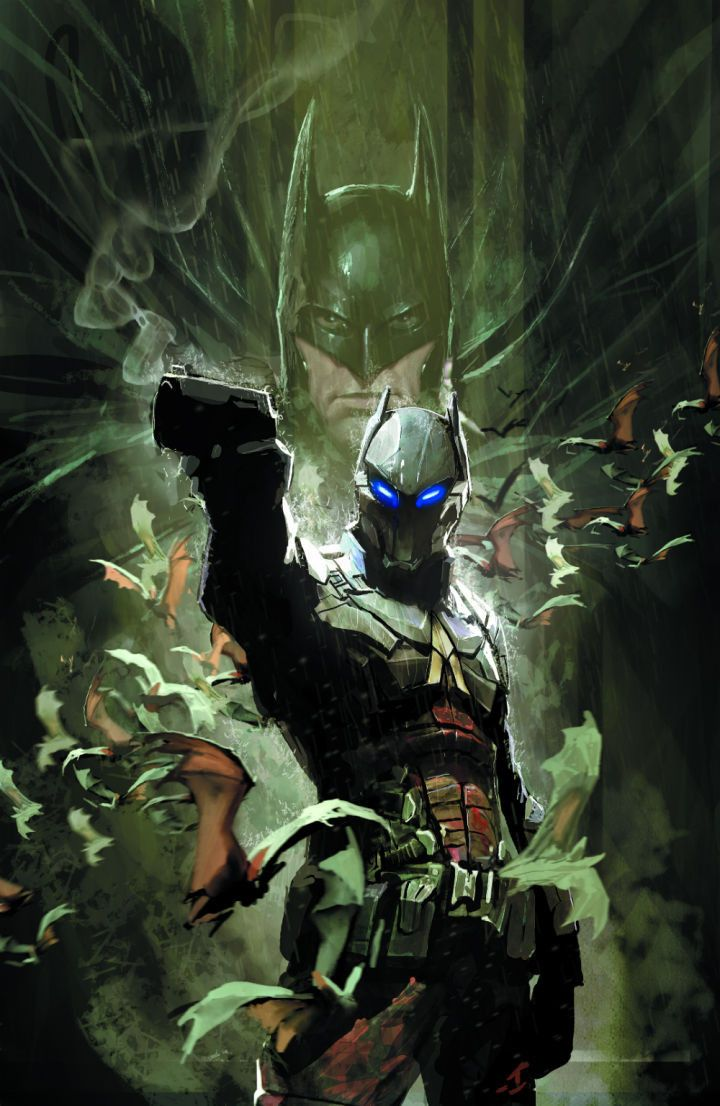 Witness the birth of Gotham City's newest villain, the Arkham Knight, in this stunning new 6-issue miniseries written by Peter J. Tomasi, the man behind the hit series BATMAN: ARKHAM KNIGHT and BATMAN