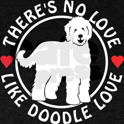 Labradoodle and golden doodle love them both the same!