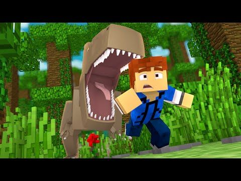 "Minecraft Jurassic World - Jurassic Park - RUN!!! #9 - ""Jurassic Craft Roleplay"" - YouTube"