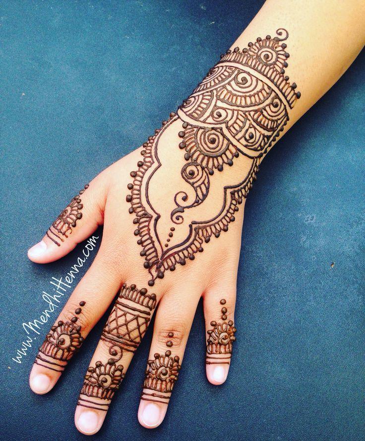 391 Best Simple Henna Images On Pinterest