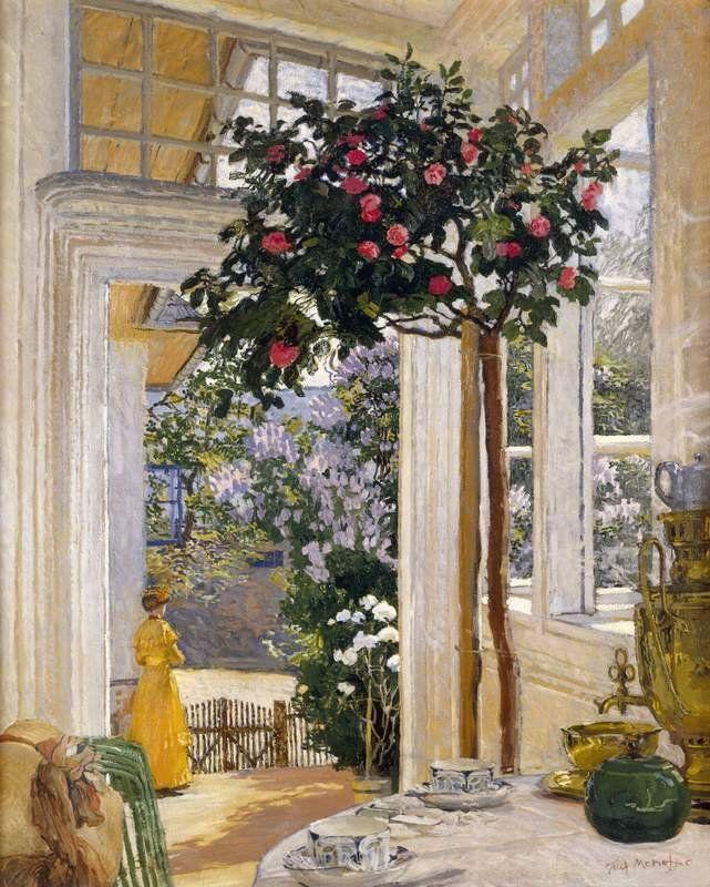"""Józef Mehoffer """"Słońce majowe"""" (1911)"""