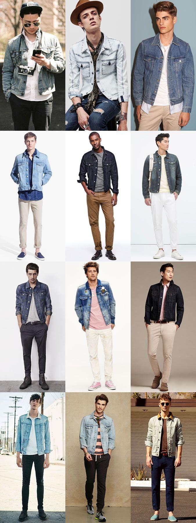 The Easy Ways To Wear Denim This Season: The Denim Jacket Lookbook Inspiration