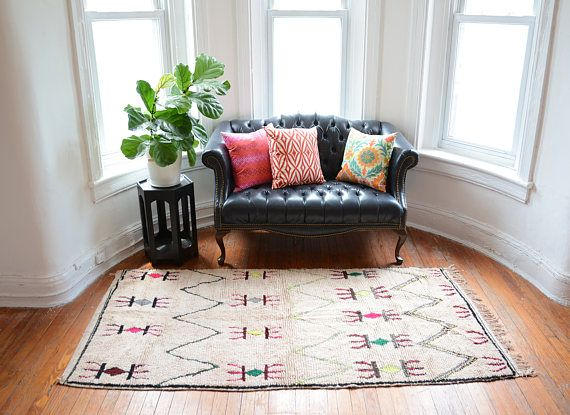 Alfombra Kilim alfombra marroquí de Azilal  alfombra bereber