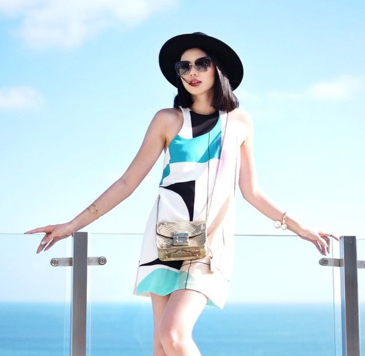 Olivia Lazuardy in this gorgeous piece by Shona Joy, talk about style envy! Dress: The Mies Mini Tank Dress!  Available @ Et-i-kit. Link: http://www.et-i-kit.com/products/mies-mini-tank-dress