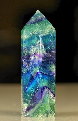 Crystal by DansPhotoArt, via Flickr ❦ CRYSTALS ❦ semi precious stones ❦ Kristall  ❦ Minerals ❦ Cristales ❦