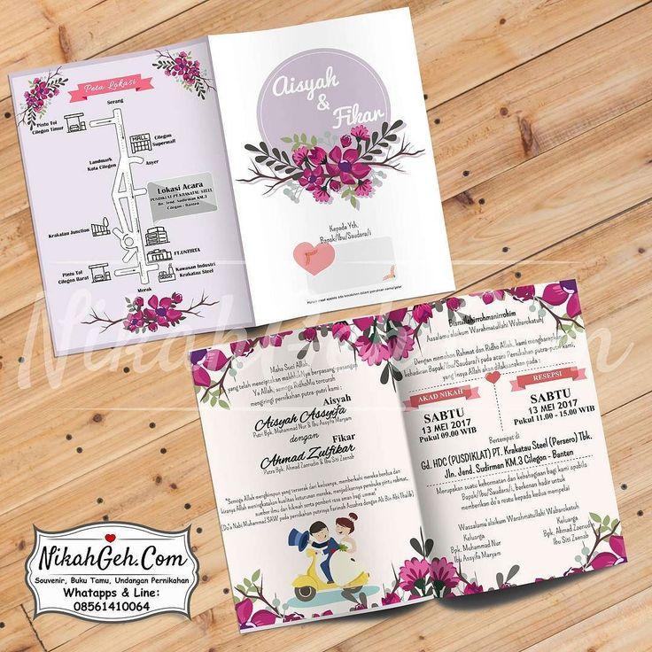 https://nikahgeh.com - Undangan pernikahan . . . - Soft cover - Full Colour - Laminasi/Dof bolak-balik - Kertas paling tebal art carton 310gr - Bebas tambah foto - Custom (bisa desain sendiri mix desain) - Free e-invitation tag souvenir label nama dan plastik  Tanya-tanya atau info lebih lanjut hubungi :  WA : 08561410064 Line : nikahgeh  #weddingserang#undanganserang #invitationserang#kotaserang#undangancilegon #undanganpandeglang#undanganmurah #undanganpernikahan#undanganonline…