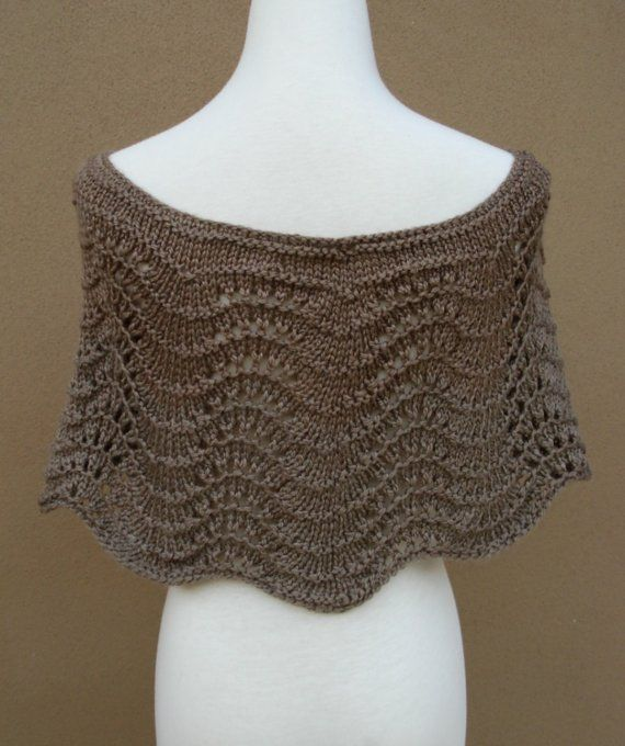 Frances Capelet in Taupe by gsakowskidesigns on Etsy