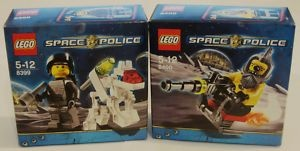 NEW Lego SPACE POLICE K-9BOT 8399 & SPACE SPEEDER 8400