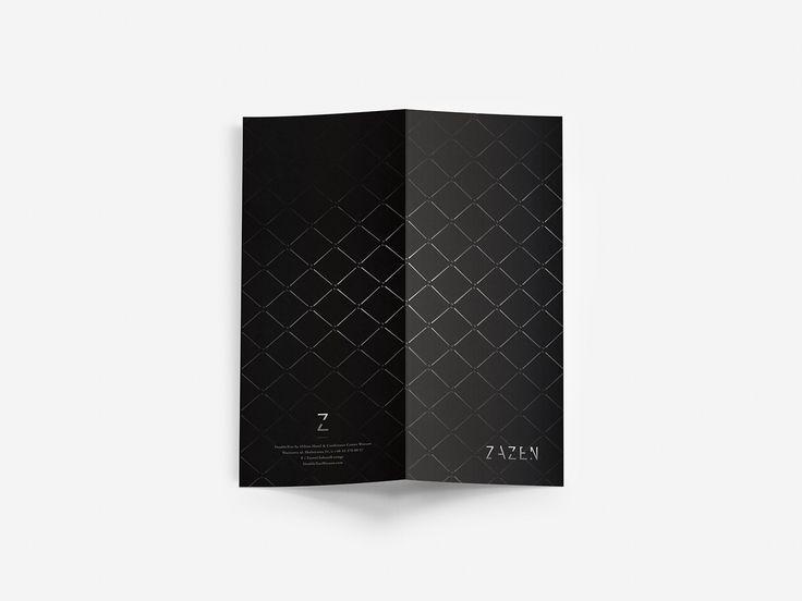 EliAda - studio graficzne, realizacje projekt graficzny dla baru Zazen w DoubleTree by Hilton Warsaw