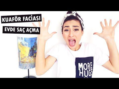Kuaför Faciası ve Evde Saç Açma Yöntemleri I Kapak Kızı - YouTube