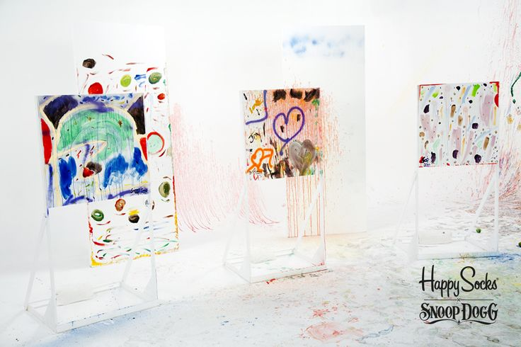 The Art of inspiration: Studio with Paintings by Snoop Dogg the Artist