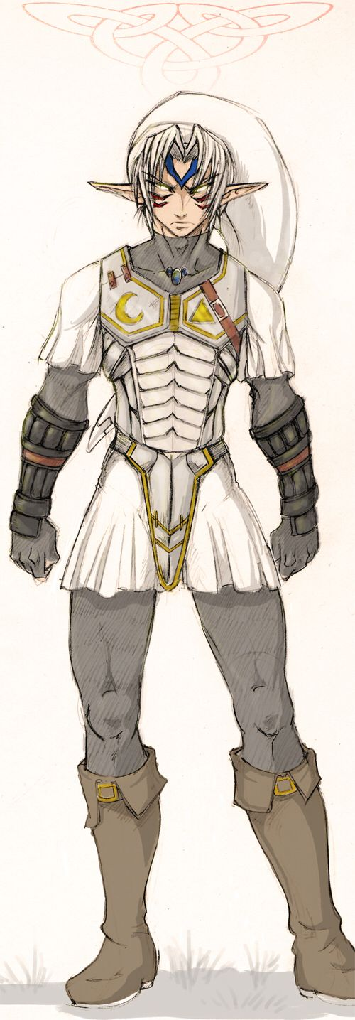 ..:: Oni Link ::.. by Spekle...if only the armor was black like in centire'
