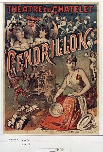 Théâtre du Châtelet... Cendrillon : [affiche] / [non identifié]