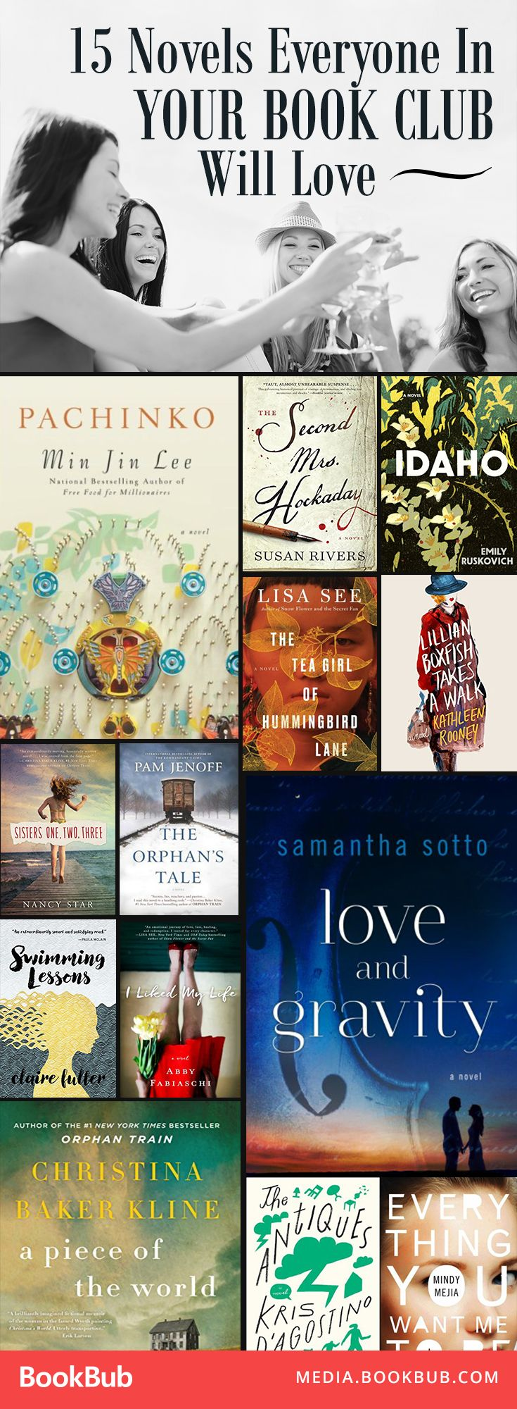 These book club ideas are must reads. Add these to your 2017 reading list!