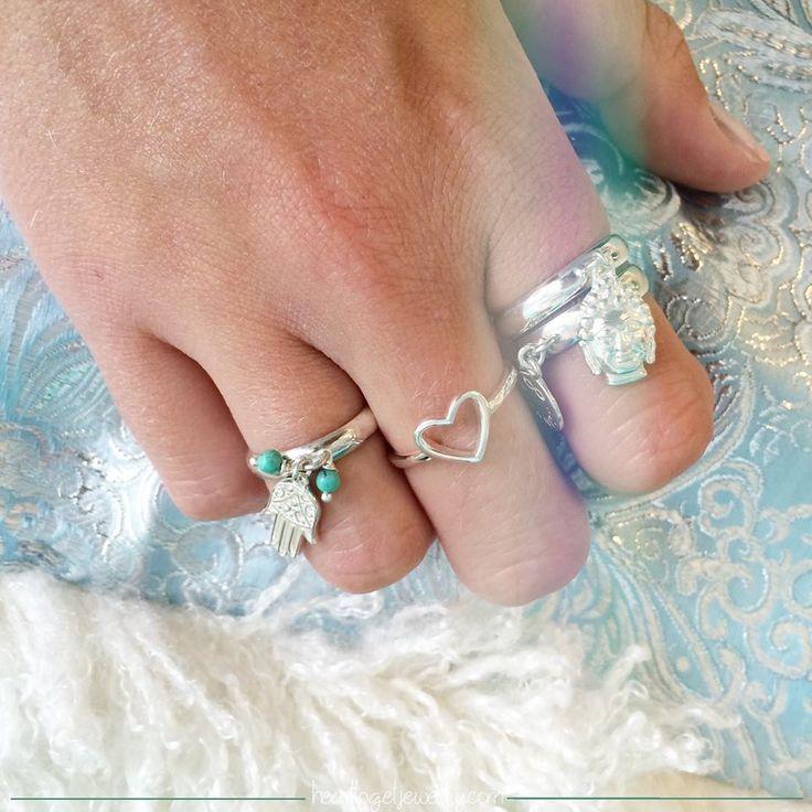Heart to Get Bohemian ringen. Zilveren ringen van het meest trendy merk in Nederland. www.ajuweliers.nl