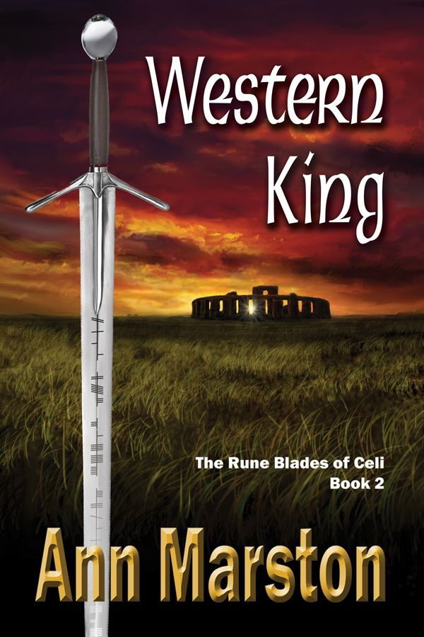 Western King by Ann Marston. Canadian Fantasy. Vol 2 in Rune Blades series