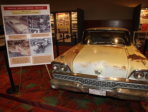 Charles Manson's Ford Fairlane, which he loaned Tex Watson ...
