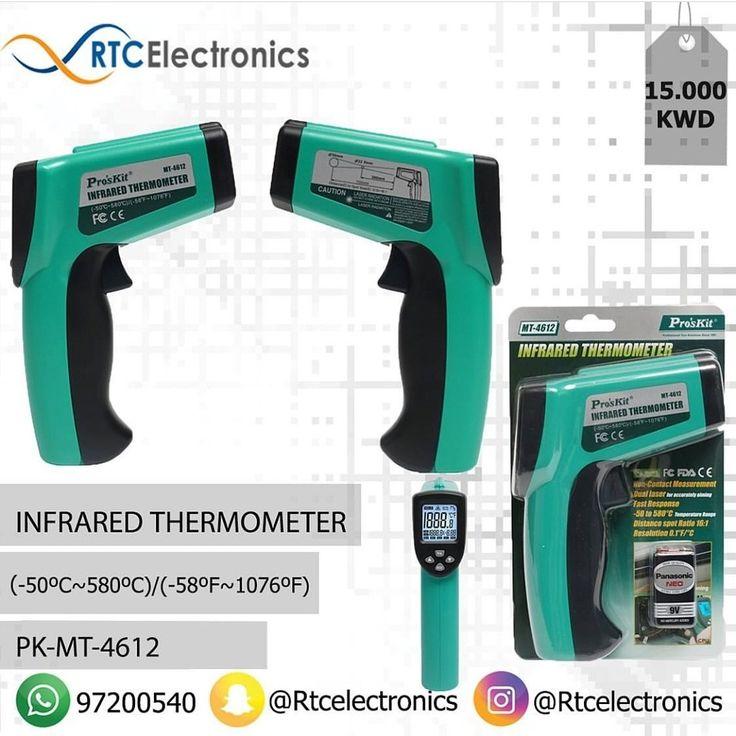 جهاز فحص درجة الحرارة عن طريق الأشعة تحت الحمراء Infrared Thermometer Power Thermometer