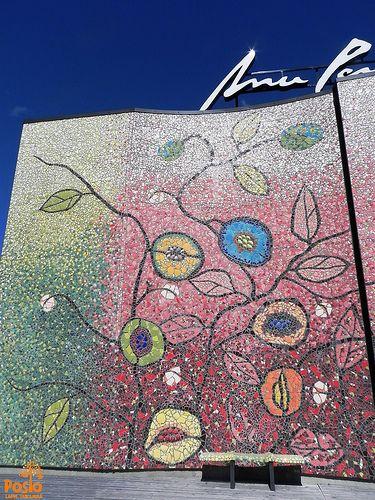 Part of Posion Voima art piece, designed by Anu Pentik