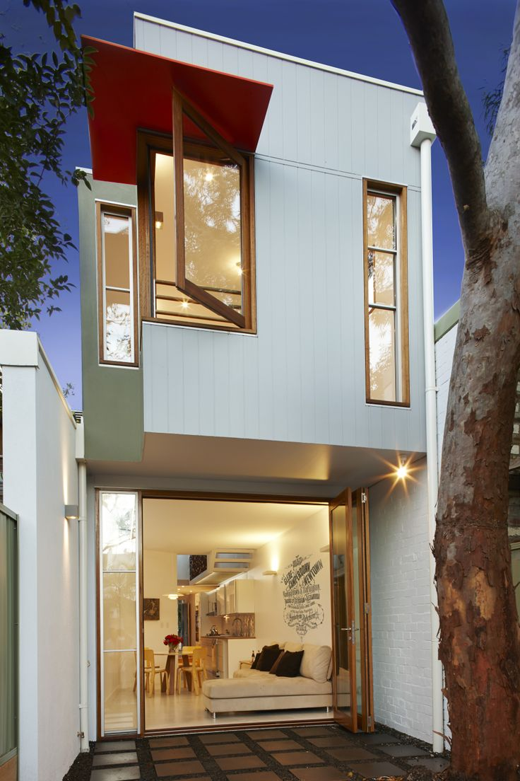 When Anderson Architecture was commissioned for the Bridge House project, they inherited what could only be termed a challenging site: small and irregularly shaped, it was also poorly lit and invested with burdened with severe termite damage.  They turned it around and created an amazing space using sustainable building products and an ingenious design.  http://digitaledition.lighthome.com.au/?iid=84743#folio=14
