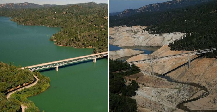 Earth, Then and Now: Dramatic Changes inOur Planet Revealed byIncredible NASA Images