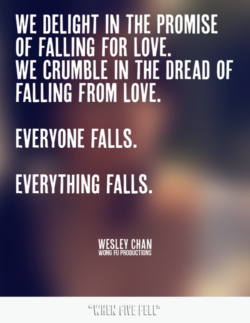 wes is so inspirational :D <3 WONG FU PRODUCTIONS