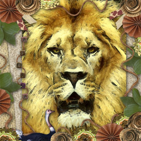 Lion King - Digishoptalk - The Hub of the Digital Scrapbooking Community