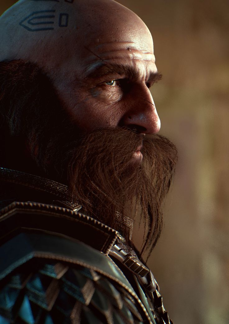 Dwalin Realtime character powered by Unreal Engine 4 by Baolong Zhang | Fan Art | 3D | CGSociety